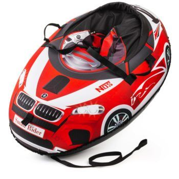 Sanki_Vatrushka_Tubing_Small_Rider_Snow_Cars_BW_Red_result